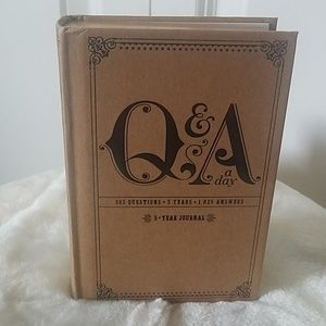 5 YEARS JOURNAL Q&A ADAY